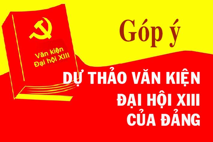 gop-y-du-thao-van-kien-dai-hoi-xiii-cua-dang