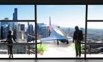 Bãi đáp máy bay trên ban công chung cư tương lai