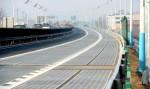 Con đường năng lượng mặt trời mới mở dài 1km ở Trung Quốc