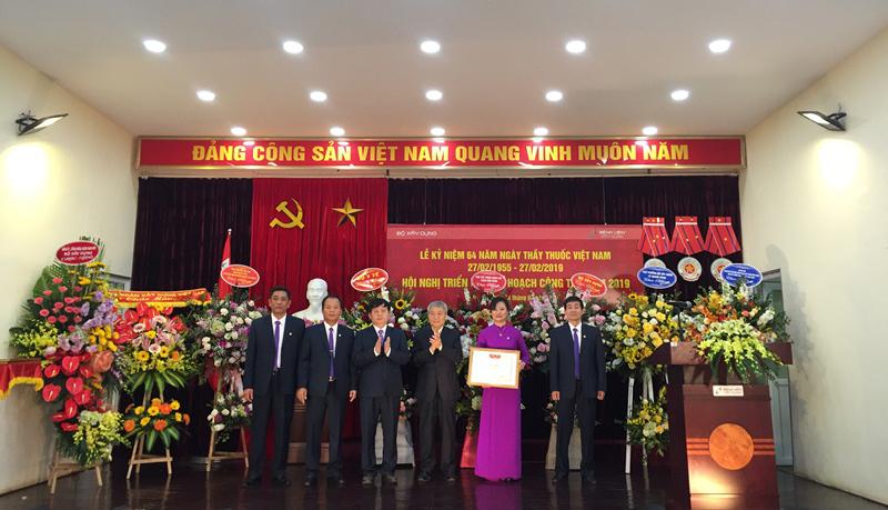 Bệnh viện Xây dựng kỷ niệm 64 năm Ngày Thầy thuốc Việt Nam và triển khai kế hoạch công tác năm 2019