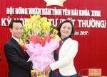 Phê chuẩn Chủ tịch UBND tỉnh Yên Bái