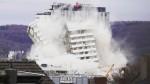 [VIDEO] Tòa nhà 18 tầng hóa tro bụi trong vài giây ở Đức