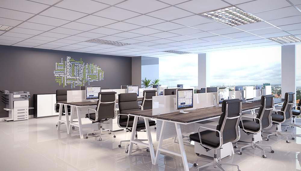 Cách thiết kế nội thất văn phòng phù hợp xu hướng hiện nay