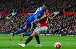 M.U ngăn Leicester vô địch Premier League tại Old Trafford