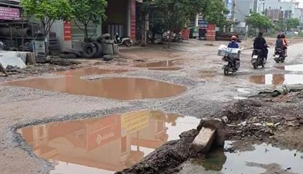 Bắc Giang: Tỉnh lộ 265 xuống cấp nghiêm trọng tiềm ẩn nhiều rủi ro