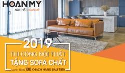Nội thất Hoàn Mỹ tặng sofa cho khách hàng