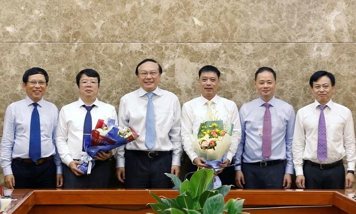 Bộ Tài nguyên Môi trường bổ nhiệm nhiều nhân sự mới