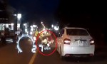 [VIDEO] Cô gái chết hụt vì tránh xe ôm đi ẩu