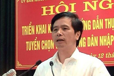 Ông Hoàng Mạnh Phú sắp bị bãi nhiệm chức Chủ tịch HĐND huyện Phúc Thọ