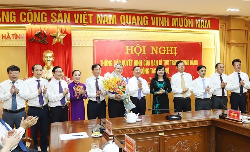 Hà Tĩnh: Ông Trần Tiến Hưng chính thức nhận nhiệm vụ Phó Bí thư Tỉnh ủy