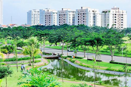 Khu đô thị xanh và thông minh vẫn là triết lý chung