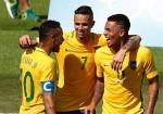 Brazil vào chung kết bóng đá nam bằng chiến thắng kiểu tennis