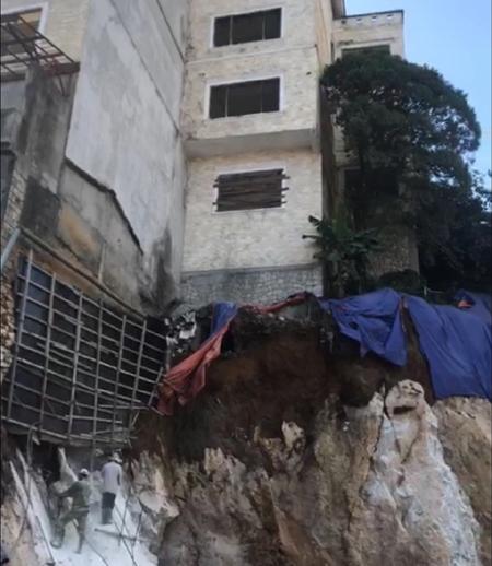 Sa Pa (Lào Cai): Công trình xây dựng sau gây hiểm họa cho công trình xây dựng trước