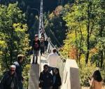 Thử cảm giác mạnh với cây cầu treo Geierley dài nhất nước Đức