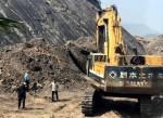 Phát hiện vụ khai thác than trái phép tại ranh giới quản lý của Cty CP Than Mông Dương