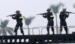 Nghìn cảnh sát bảo vệ 'chảo lửa' Mỹ Đình trong trận bán kết