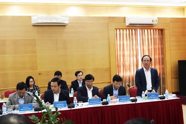 Đoàn Kiểm tra số 3 của Ban Thường vụ Thành ủy làm việc với Đảng bộ Tổng Công ty Đầu tư và Phát triển nhà Hà Nội