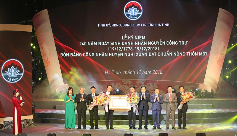 Phó Thủ tướng Vương Đình Huệ dự Lễ kỷ niệm 240 năm ngày sinh Uy Viễn tướng công Nguyễn Công Trứ