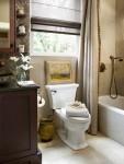 2 ý tưởng thiết kế độc đáo cho phòng tắm nhỏ