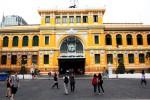 TP HCM chọn lại màu sơn cho tòa nhà bưu điện 130 tuổi