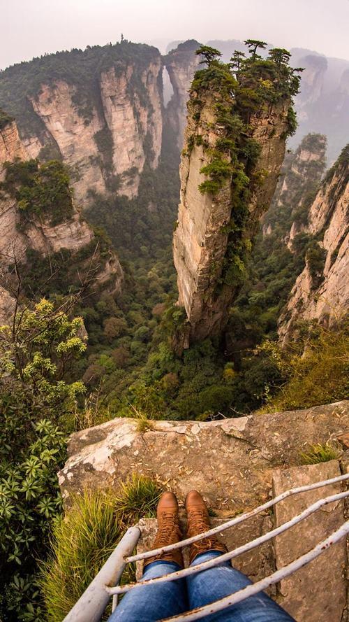 Vẻ đẹp như cảnh thần tiên của ngọn núi trong phim avatar - 1