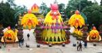 Linh vật Tết 'mái ấm hạnh phúc' ở Quảng Ngãi