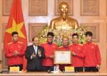 Thủ tướng: Đội tuyển đã thể hiện ý chí kiên cường