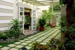 Một số ý tưởng thiết kế sân vườn cho nhà có diện tích nhỏ