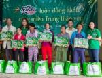 Trao 7.000 suất quà Tết cho các gia đình khó khăn ở miền Trung