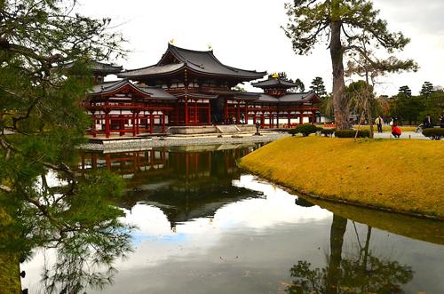 Ngôi chùa in trên đồng tiền 10 yen của Nhật