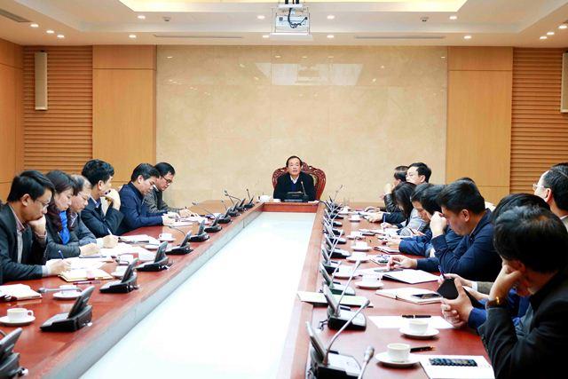 Bộ Xây dựng triển khai xây dựng văn kiện Đại hội Đảng toàn quốc lần thứ XIII