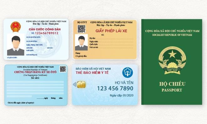 5 loại giấy tờ tùy thân thay đổi từ 2020