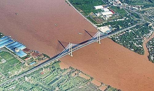 5 cầu bắc qua sông Tiền, sông Hậu