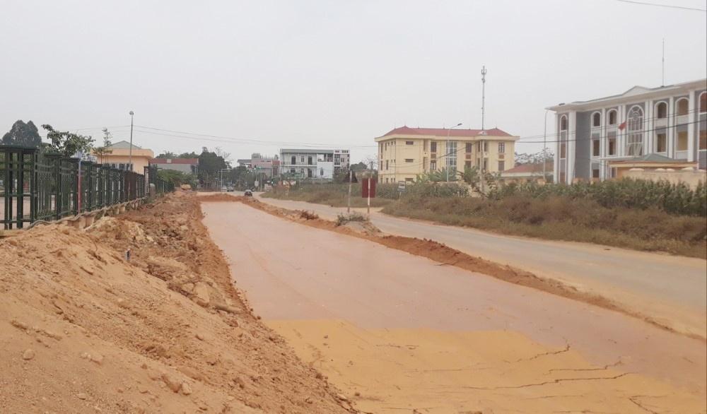 Sông Lô (Vĩnh Phúc): Đẩy nhanh tiến độ thi công một số dự án lớn trên địa bàn huyện