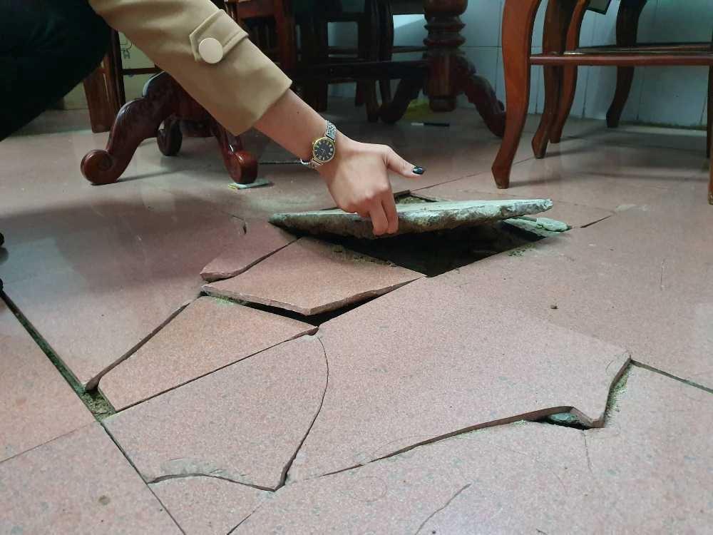 Nghệ An: Thi công Trung tâm hội nghị Summer Palace làm nứt, lún nhà dân