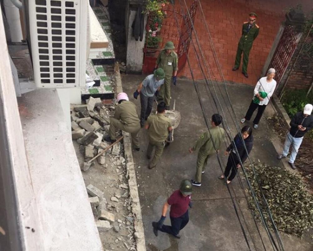 Thái Nguyên: Cưỡng chế, trả lại lối đi hợp pháp cho người dân