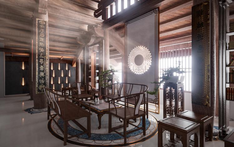Thiết kế không gian đình làng đạt giải vàng cuộc thi kiến trúc