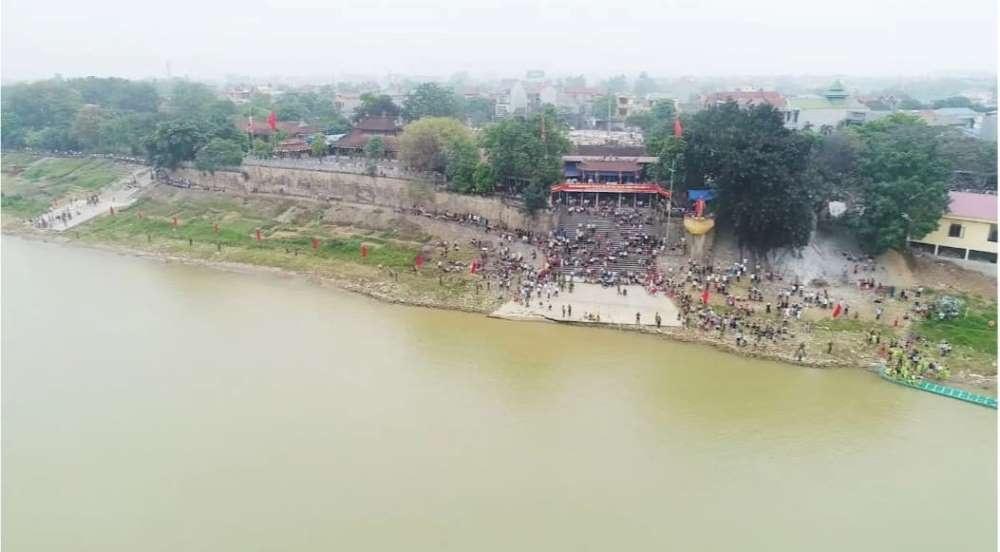 Đền Tam Giang - công trình kiến trúc đặc trưng của Phú Thọ