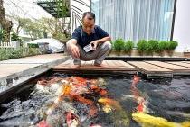 """Bỏ """"đất vàng"""" phố cổ, vợ chồng U70 chi bạc tỷ về ngoại ô nuôi cá, trồng rau"""