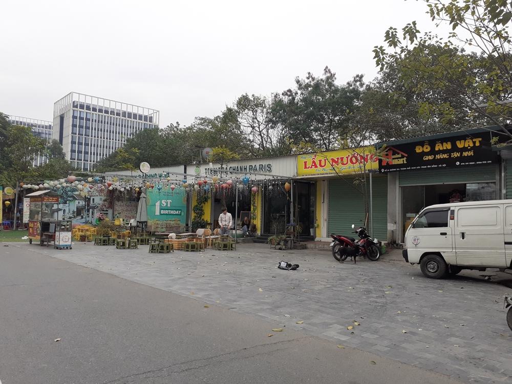 Hà Nội: Ai chống lưng cho hành vi chiếm đất công viên xây dựng trái phép?