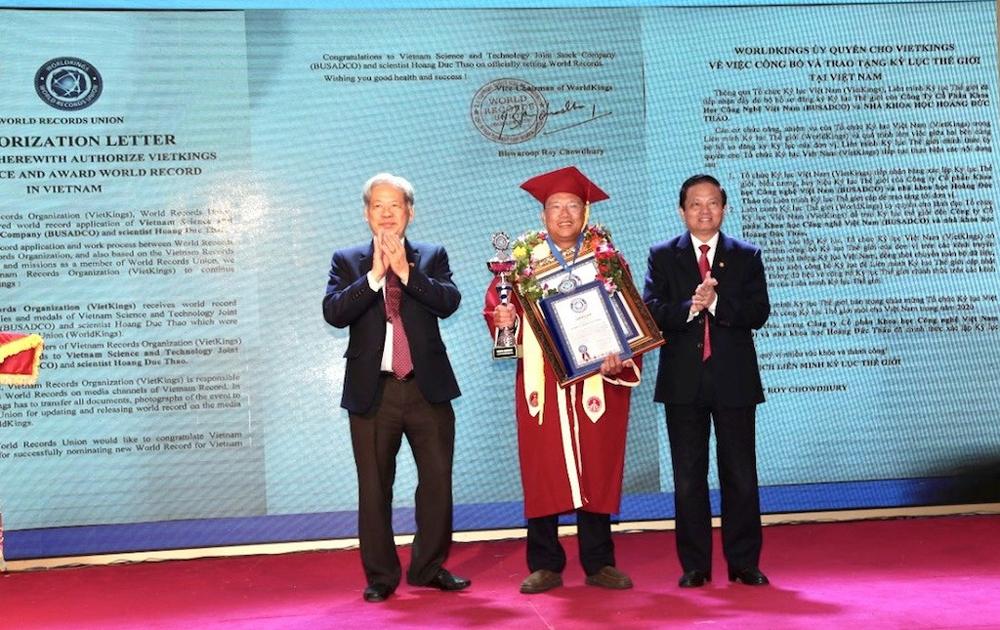 Busadco đón nhận Kỷ lục thế giới và Kỷ lục Việt Nam về khoa học công nghệ