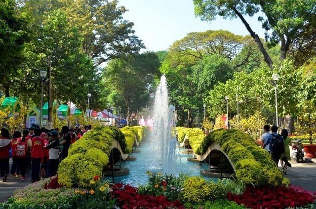 Sắp diễn ra Hội Hoa Xuân Tân Sửu thành phố Hồ Chí Minh