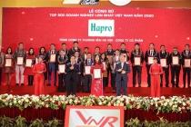 hapro 14 nam lien tiep duoc vinh danh top 500 doanh nghiep lon nhat viet nam