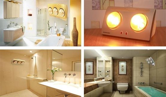 Kinh nghiệm chọn mua đèn sưởi phòng tắm không nên bỏ qua