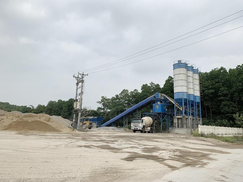Thái Nguyên: Nhiều trạm trộn bê tông không tuân thủ quy định