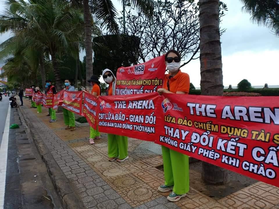 khanh hoa co hay khong viec cong ty co phan tran thai cam ranh bi to lua khach hang tai du an the arena