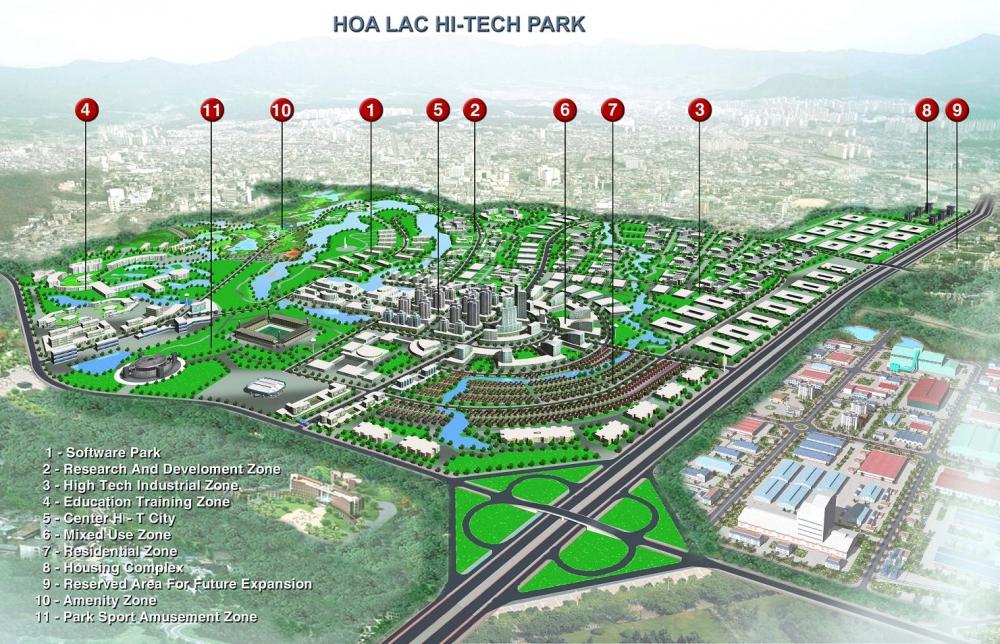 Bí thư Thành ủy Hà Nội khuyến khích doanh nghiệp FDI công nghệ đầu tư vào Khu công nghệ cao Hòa Lạc