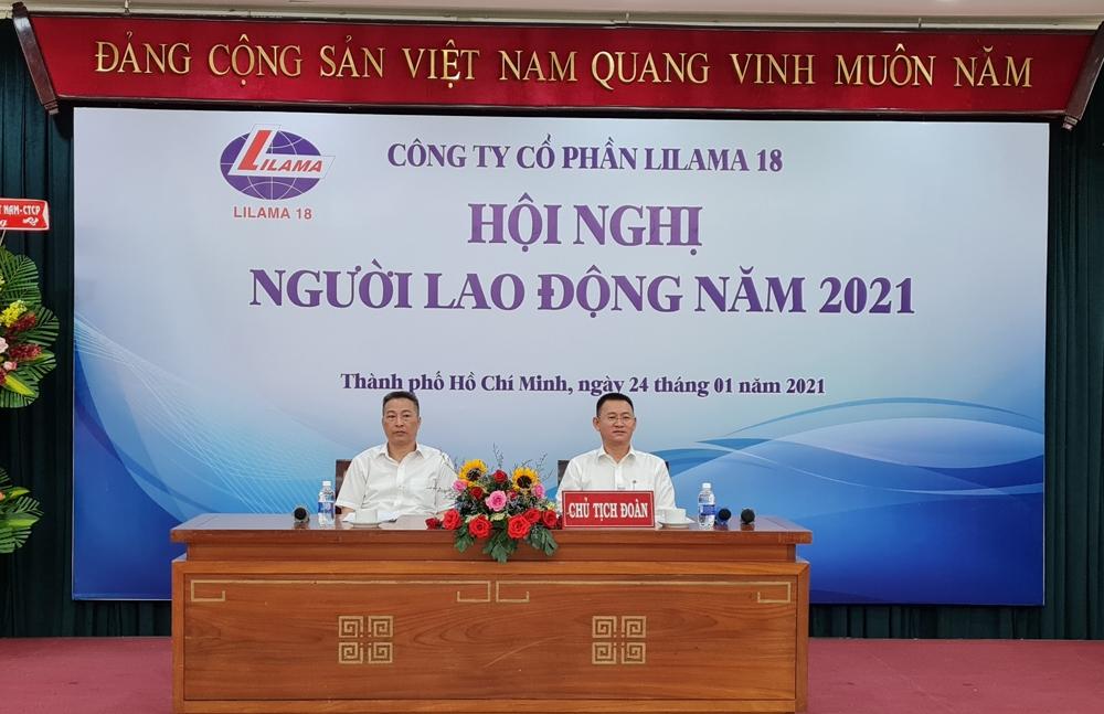 Lilama 18 triển khai kế hoạch năm 2021