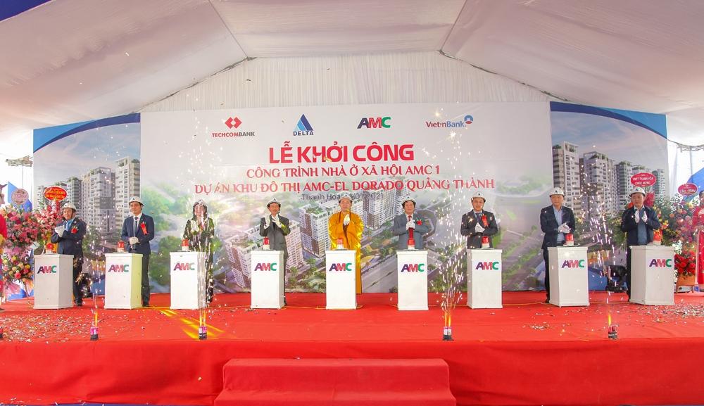 DELTA Group khởi công Khu nhà ở xã hội AMC I tại Thanh Hóa