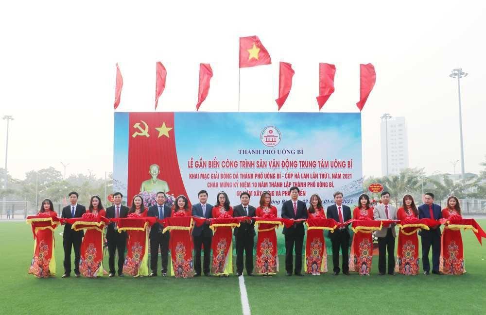 Quảng Ninh: Khánh thành Sân vận động trung tâm Uông Bí